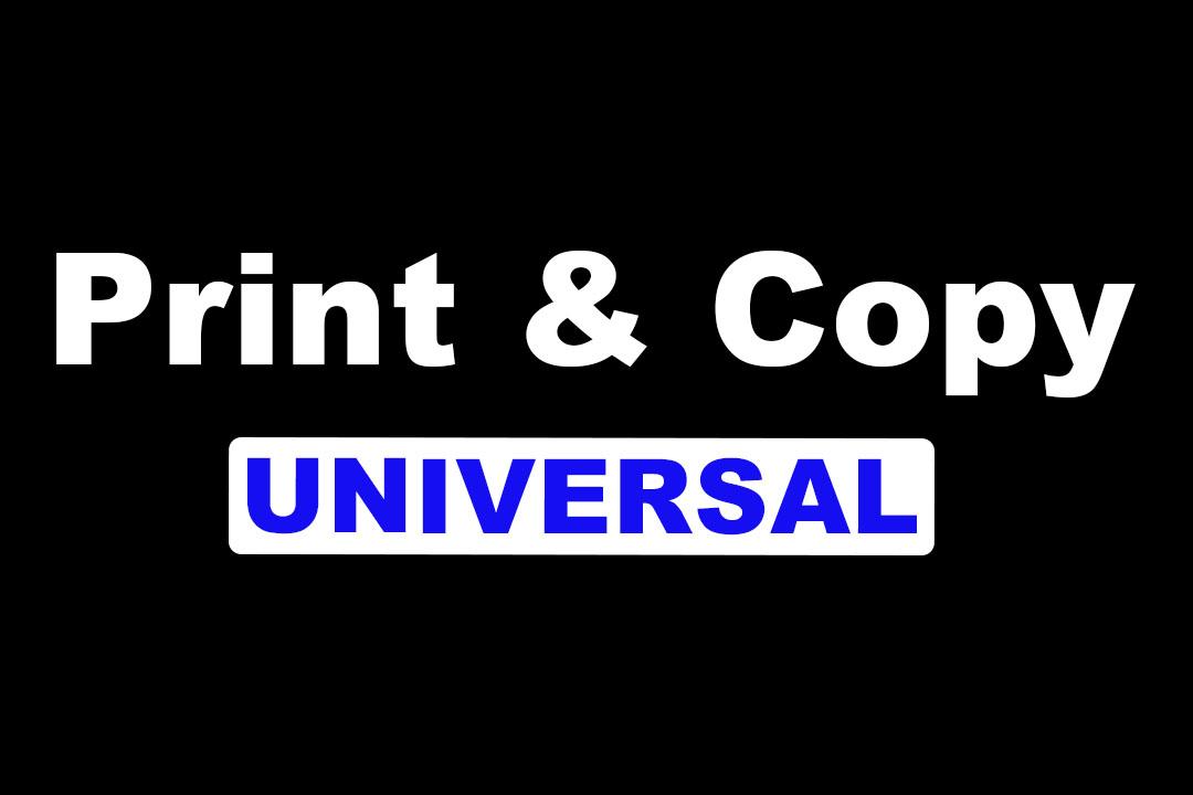 UNIVERSAL PRINT & COPY